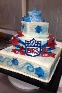 football-cake